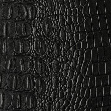Faux Crocodile Leather Crock