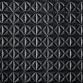 Pyramid Black_custom embossing fabric
