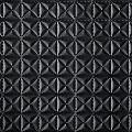 Pyramid Black_custom embossing fabric