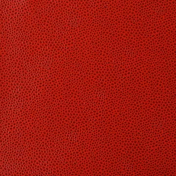 Faux leather upholstery sta kleen pebbles for Red leather fabric